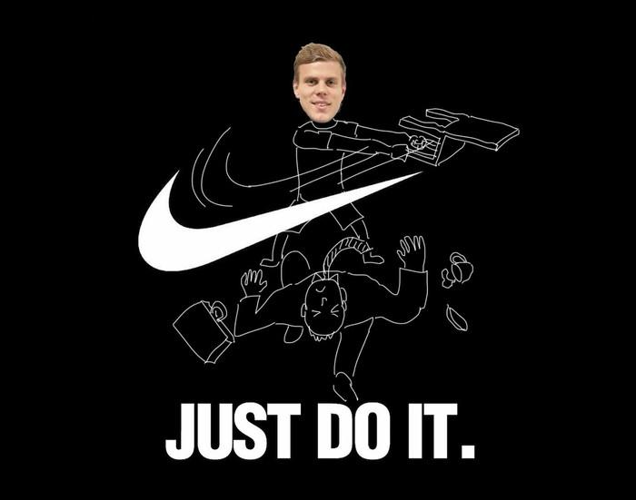 Новый постер Nike от Дюрана