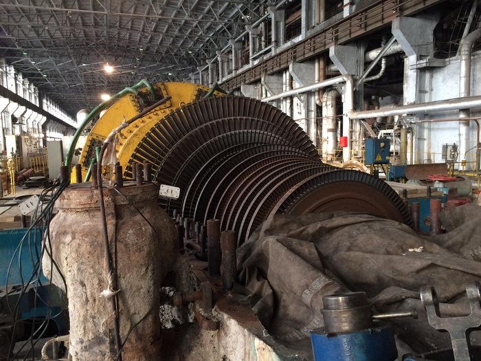 Пт50-90 Паровая турбина, Турбина, ТЭЦ, ГРЭС, Энергетика, Длиннопост