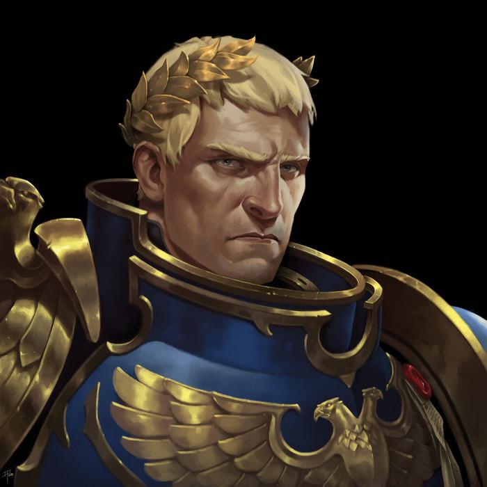 Робуте Гиллиман a.k.a. все ваши попытки смешно перевести его имя Warhammer 40k, Roboute Guilliman, Ultramarines, Примархи, Wh art