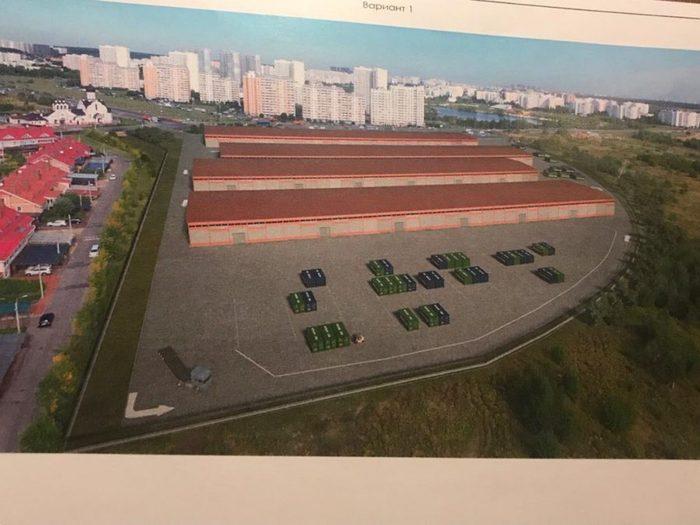 В Южном Бутово начали строить складской комплекс Южное Бутово, Потапово, Длиннопост, Строительство, Склад, Комплексы