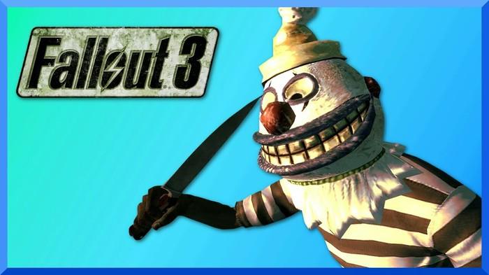 Маска Крохотного убивца (клоун из Fallout 3) Клоун, Fallout, Своими руками, Pepakura, Comic-Con, Убийца клоун, Длиннопост