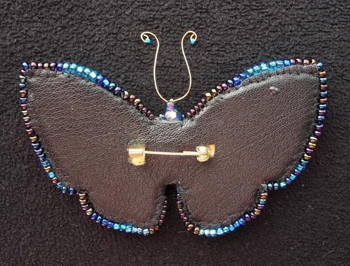 Бабочка Своими руками, Рукоделие, Брошь, Бабочка, Handmade, Вышивка, Бисер, Украшения из бисера, Длиннопост