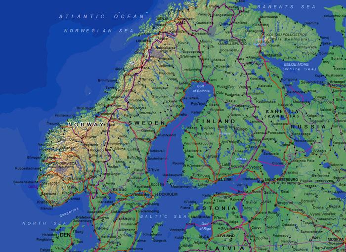 География География, США, Норвегия, Россия