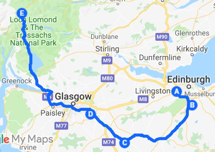 Шотландия из окна автомобиля. День первый Природа, Путешествия, Красота природы, Фотография, Шотландия, Пейзаж, Отпуск, Длиннопост