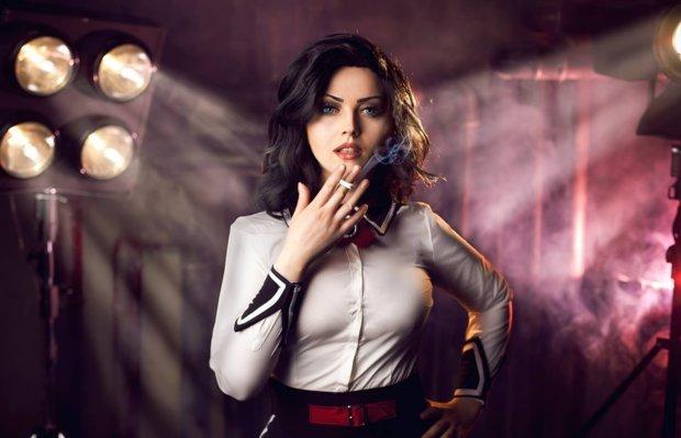 Косплей на Bioshock Косплей, Bioshock, Красивая девушка, Сиськи