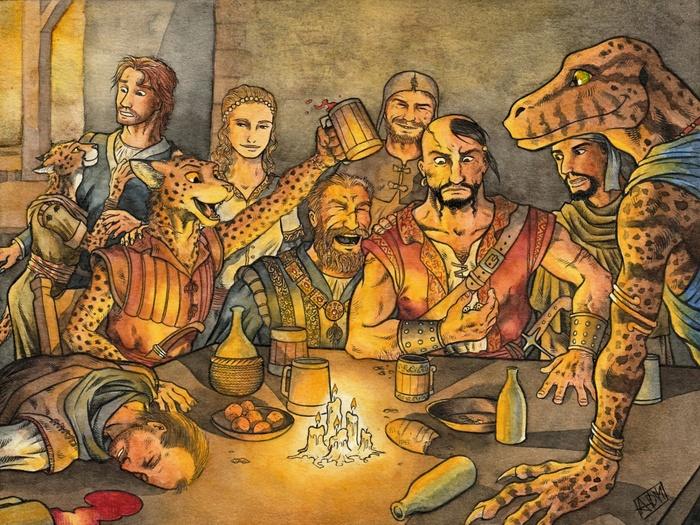 Алкоголь и разговоры The Elder Scrolls, Skyrim, The Elder Scrolls Online, Норды, Каджит, Аргониане, The Elder Scrolls V: Skyrim