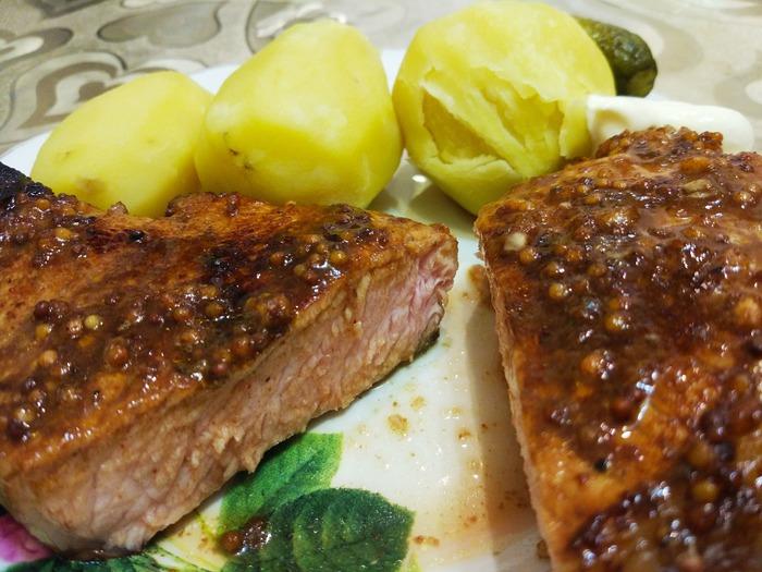 Свиная корейка с пикантной глазурью Еда, Кухня, Рецепт, Фоторецепт, Мясо, Рецепт вкуса, Рецепты тралекс, Ужин, Длиннопост