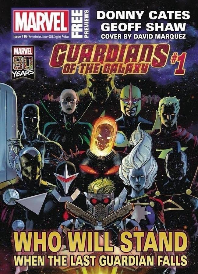 Marvel выпустила арт, изображающий новых Стражей Галактики Marvel, Комиксы, Новости, Арт, Стражи галактики, Новый состав