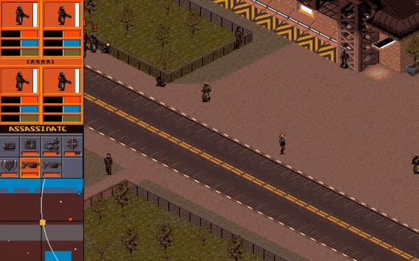 Syndicate: 16-битный киберпанк из 90х Игры, Sega, Ностальгия, Киберпанк, Ретро-Игры, Игровые обзоры, Назад в 90е, Гифка, Длиннопост