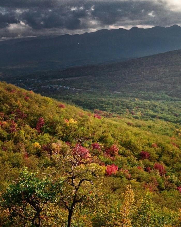 Буйнакская осень, республика Дагестан.