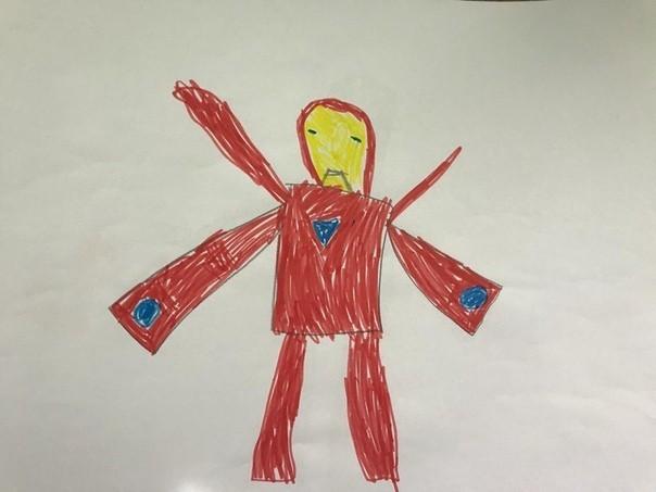 Мстителей глазами ребёнка. Marvel, Мстители, Мстители: Война бесконечности, Рисунок, Длиннопост