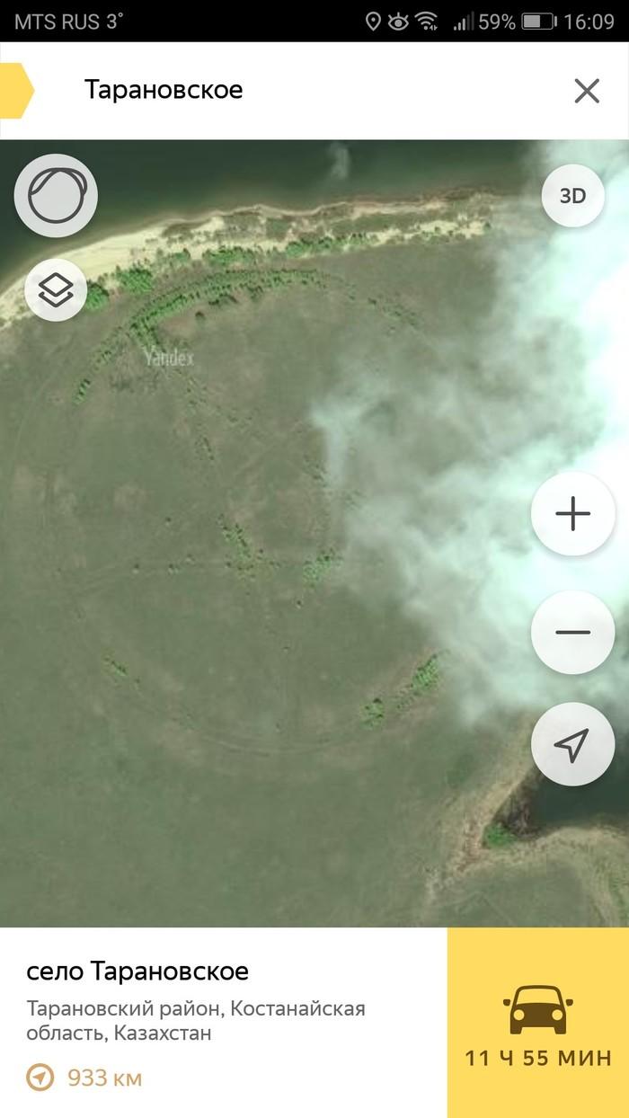 Логово Сатанисты, Ландшафтный дизайн, Яндекс карты