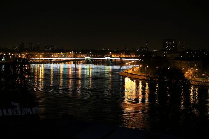 Питер. Осень. Нева. Володарский мост. Санкт-Петербург, Ночь, Мост, Сейчас, День