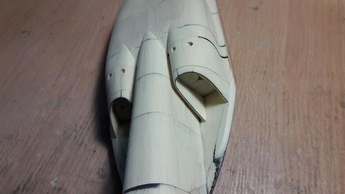Мастер-макет самолета Як-130 часть 3 Макетчик, Макет, Самолет, Як-130, Дизайнер, Длиннопост