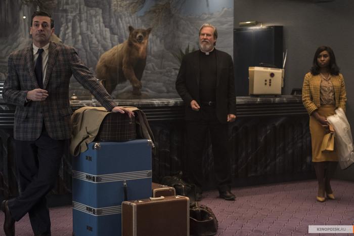 Ждать ли чего-нибудь хорошего от «Ничего хорошего в отеле «Эль Рояль»? Мнение, Детектив, Триллер, Премьера, Что посмотреть, Длиннопост, Рецензия