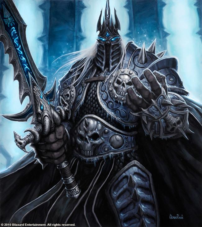 Lich King Hearthstone, Warcraft, World of Warcraft, Blizzard, Старые игры и мемы