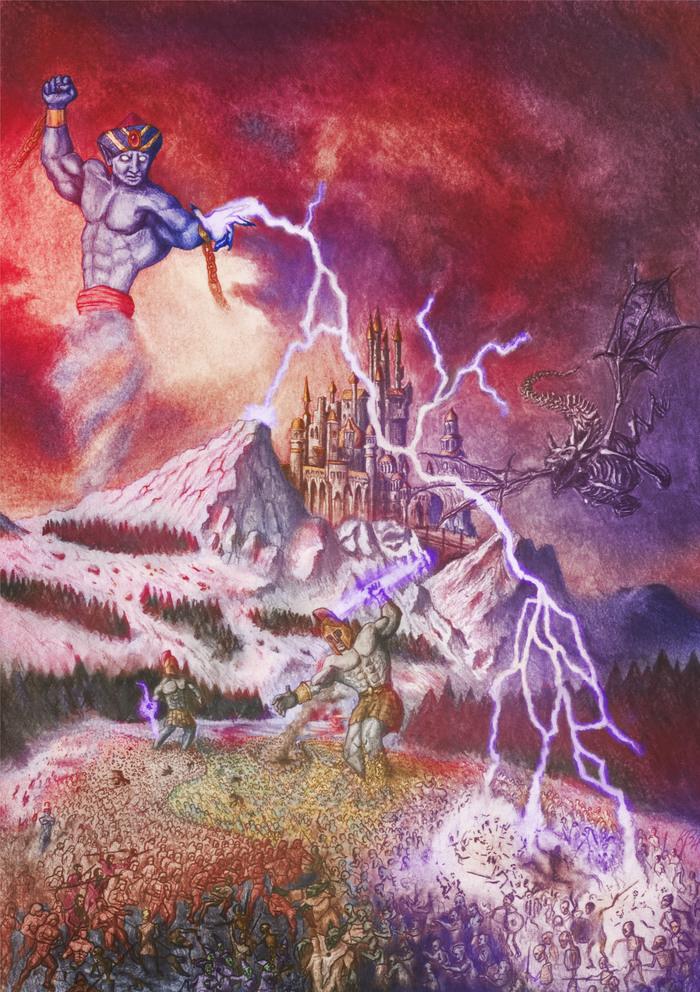 ГЕРОИ 3 (Фан-Арт) Герои меча и магии, Фан-Арт, Герои, Рисунок, Я художник - я так вижу, HOMM III, Длиннопост