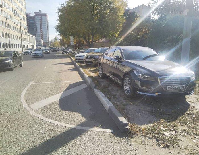Платная парковка в Воронеже Парковка, Воронеж