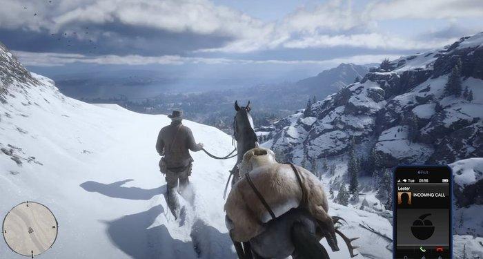 Как мгновенно превратить Red Dead Redemption в действительно крутую игру RED DEAD redemption, GTA 5, Скриншот