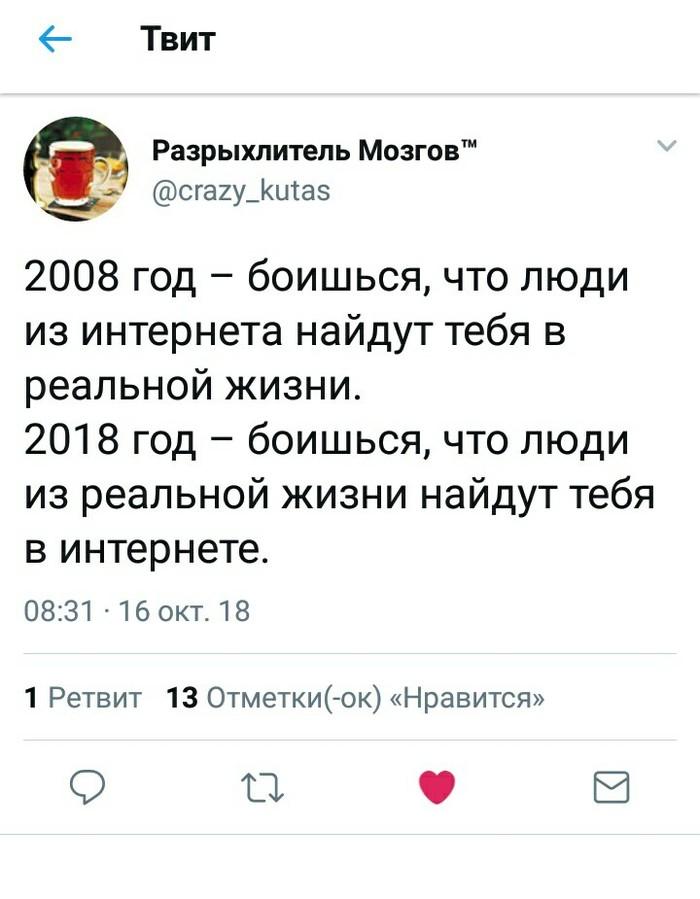 Страх #2018