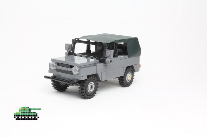 УАЗ-469 из LEGO LEGO, Машина, УАЗ