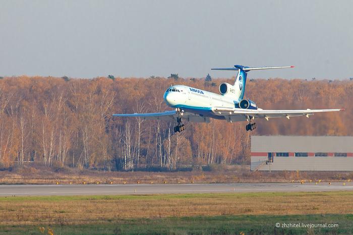 Последний Ту-154 Сделано в СССР, Ту-154, Авиация, Самолет, Длиннопост