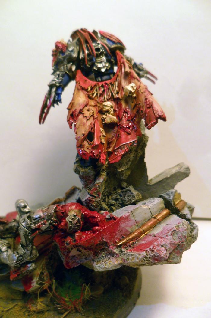 Konrad Curze Wh miniatures, Warhammer 40k, Night Lords, Konrad curze, Длиннопост