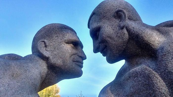 Боюсь узнать, что на кону в этом состязании Украина, Коростышев, Кличко, Скульптура