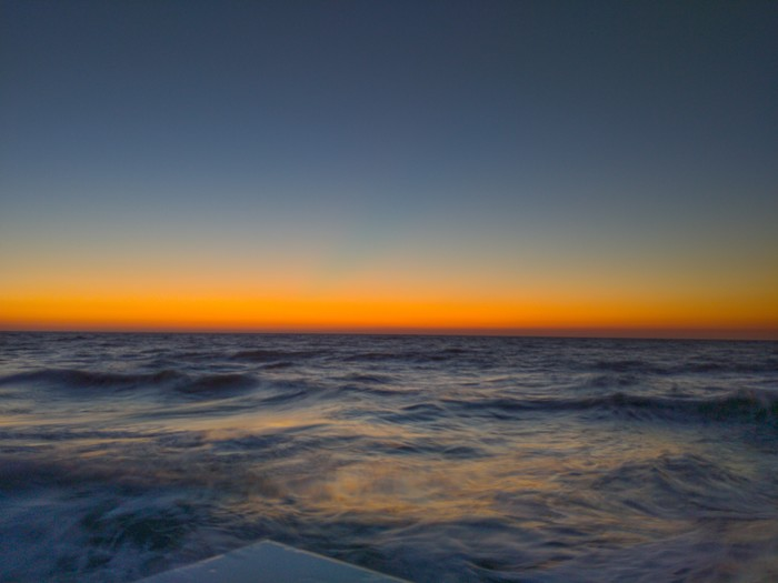 Рассвет на черном море Фотография, Рассвет, Мобильная фотография