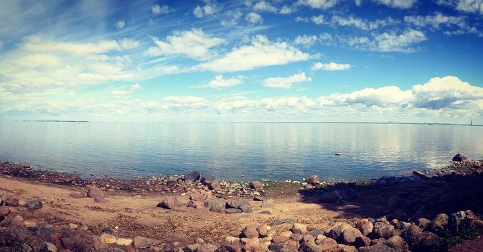 Финский залив Финский залив, Санкт-Петербург, Пейзаж