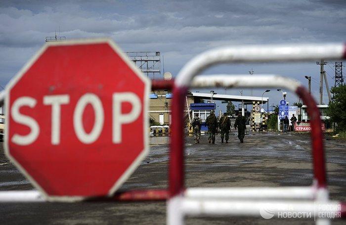 Украина хочет запретить россиянам ездить в Крым Украина, Крым, Граница