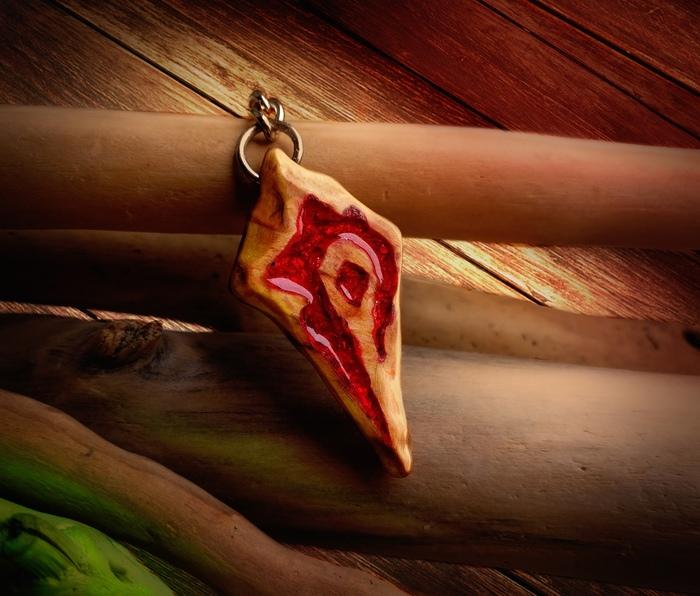 Брелок из дерева и смолы (процесс) Ручная работа, Из дерева и смолы, Warcraft, World of Warcraft, Рукоделие с процессом, Длиннопост
