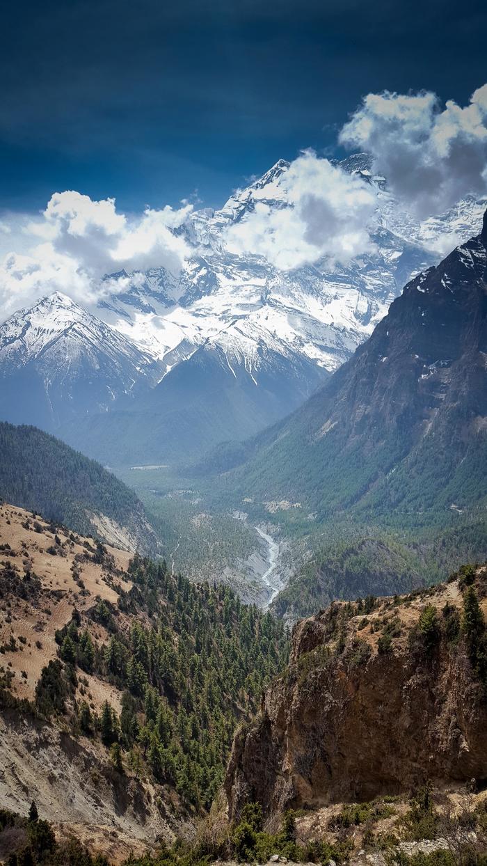 Горный хребет Аннапурна, Непал