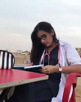 Проблема врачей... Врачи, Знакомства, Почерк, Постановка, Гифка