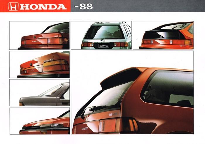 Honda - 1988 год Honda, Trevor_Phillips, Каталог, Длиннопост
