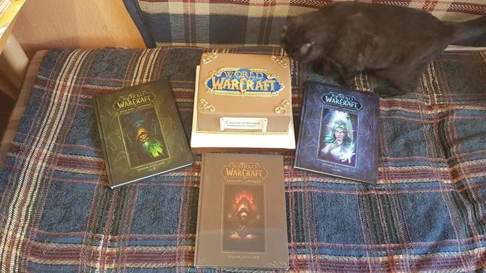 Вот с таким подарком, жена разбудила меня на мой 28-й др) World of Warcraft, Warcraft chronicle, Жена, День рождения, Подарок