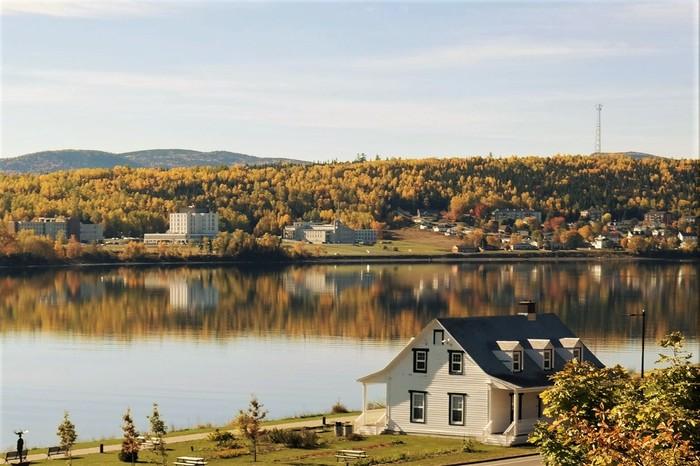 Осень, Квебек. Осень, Канада, Квебек, Гаспе, Фотография