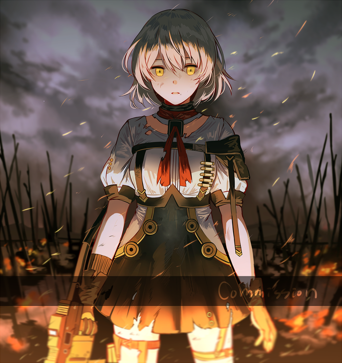 Vector Anime Art, Girls Frontline, Вектор