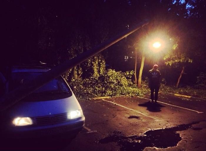 Ураган в Москве 29.05.17, а вы помните?