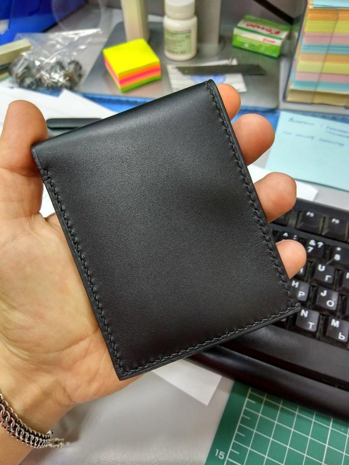 Простой кошелек Своими руками, Кожа, Изделия из кожи, Handmade, Длиннопост, Кожевенное ремесло, Рукоделие