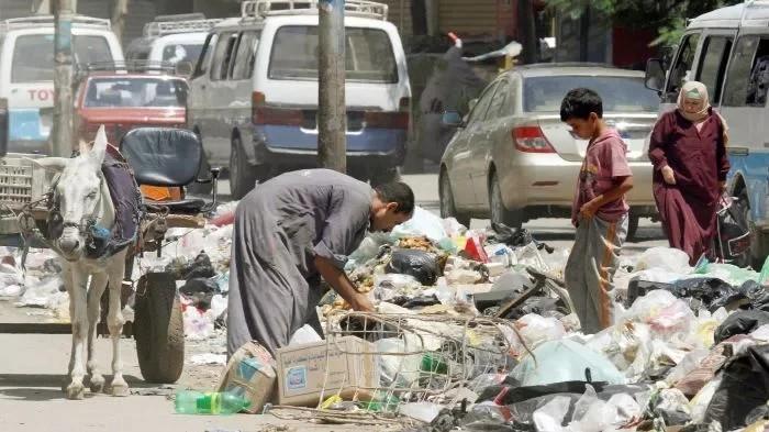 Заббалин - египетский город мусорщиков, которого нет на карте. Мусор, Копипаста, Длиннопост, Египет, Утилизация отходов, Слои общества