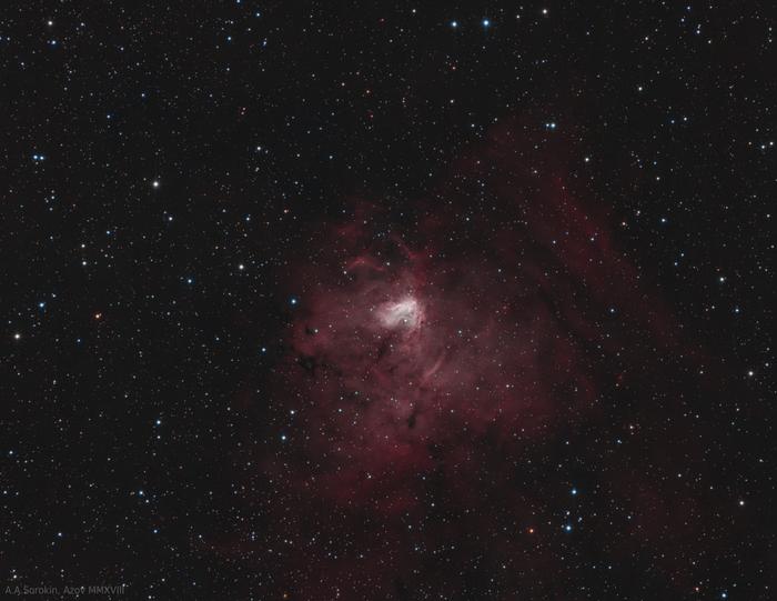 Туманность NGC 1491 Астрофото, Космос, Телескоп, Туманность, Астрономия, Звёзды