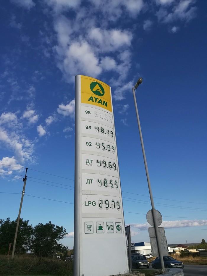 Цены на бензин в Крыму Бензин, Цены, Маразм