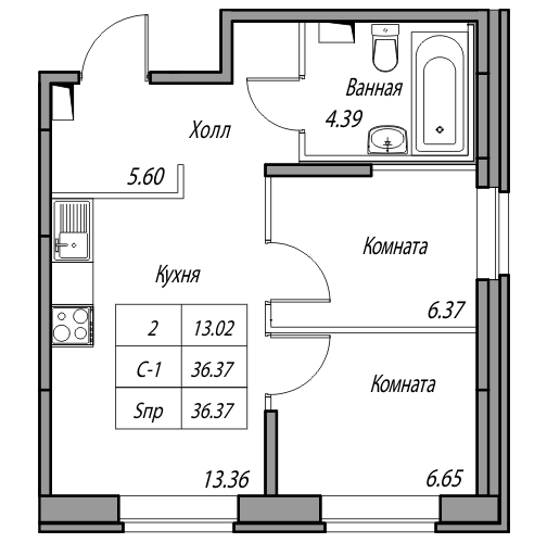Для кого эта квартира? Квартира, Планировка, Юнтолово, Бред