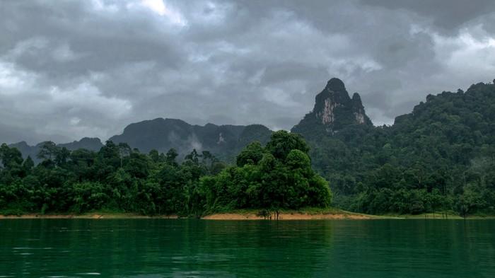 Отпуск 2018. Часть 11 - Cheow lan. Отпуск, 2018, Озеро, Национальный парк, Пхукет, Длиннопост