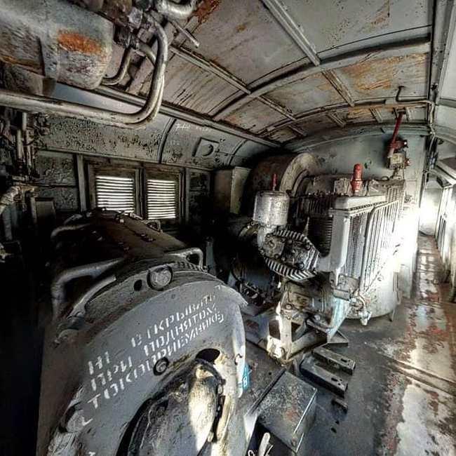 Кабина и машинное отделение ВЛ8 ВЛ8, Электровоз, Поезд, Железная Дорога