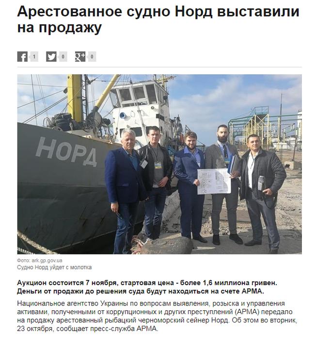 Когда окончательно решили прекратить быть морской державой. Украина, Россия, Норд, Политика, Перемога