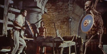 Рэй Харрихаузен: король спецэффектов Спецэффекты, Фильмы, Кинодетали, Интересное, Гифка, Длиннопост
