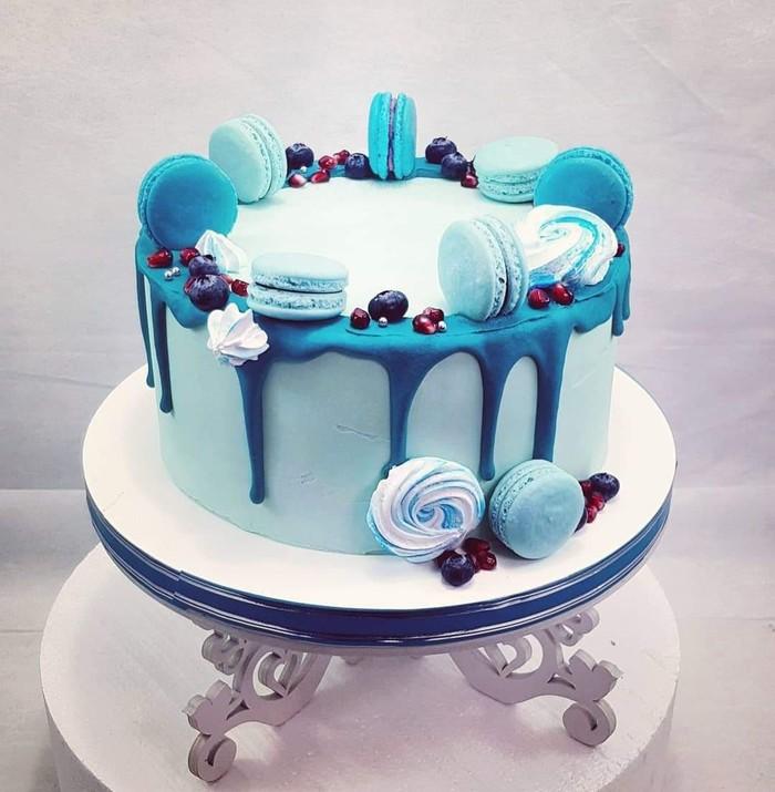 Торт без мастики тоже может быть крутым + бонус ;) Длиннопост, Торты на заказ, Торт