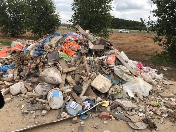 Новая Москва утопает в строительном мусоре Мусор, Правительство, Новая Москва, Проблема, Законотворцы, Длиннопост, Негатив